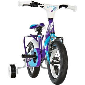 s'cool niXe 12 Børnecykel alloy violet